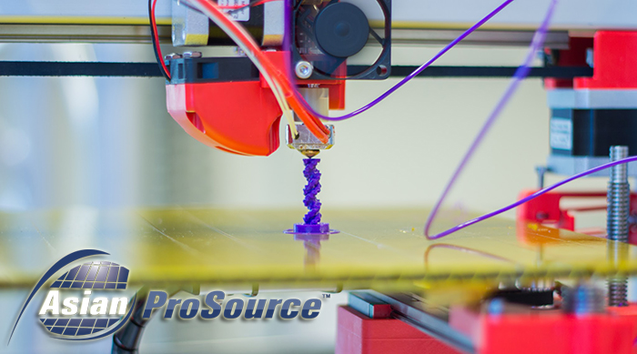 3D Printer Producing Prototype