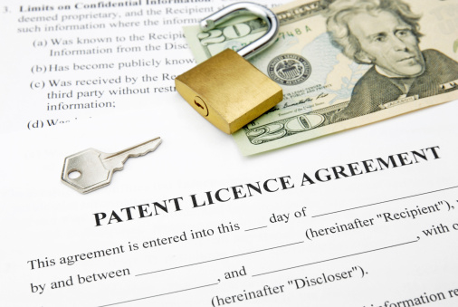 Patent License Agreement Image